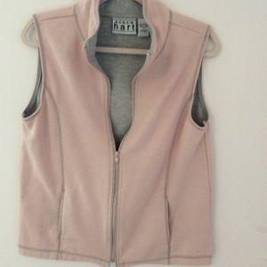 Keren Hart pink and gray vest